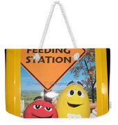 Yummy M And M's Weekender Tote Bag