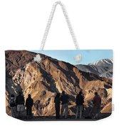 Zabriske Sunrise Watchers Weekender Tote Bag