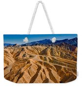 Zabriskie Point Badlands Weekender Tote Bag