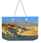 Zabriskie Point Death Valley Weekender Tote Bag