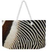 Zebra Caboose Weekender Tote Bag