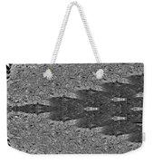 Zebra Half-circle Weekender Tote Bag