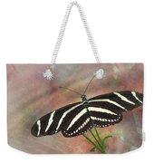 Zebra Longwing Butterfly-3 Weekender Tote Bag