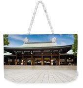 Zen Temple Under Blue Sky  Weekender Tote Bag