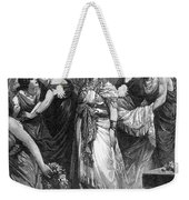 Zenobia (d. After 274 A.d.) Weekender Tote Bag