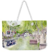Zhou Zhuang Watertown Suchou China 2006 Weekender Tote Bag