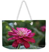 Zinnia Quenched Weekender Tote Bag