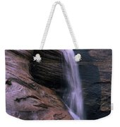 Zion Summer Waterfall Weekender Tote Bag