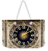 Zodiac Clock Weekender Tote Bag