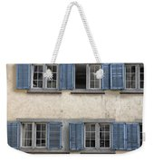Zurich Window Shutters Weekender Tote Bag