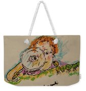 Caterpillars Weekender Tote Bag