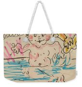 Bathing Time Weekender Tote Bag