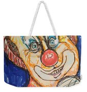 Happy Clown Weekender Tote Bag