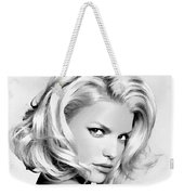 # 3 Jessica Simpson Portrait Weekender Tote Bag