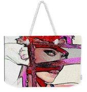 # 39 Charlize Theron Portrait Weekender Tote Bag
