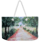 A Country Road Weekender Tote Bag