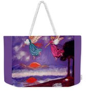 A Feather From The Breath Of God Weekender Tote Bag