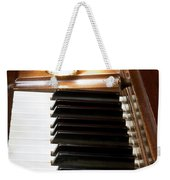 A Shot Of Bourbon Whiskey And The Black And White Piano Ivory K Weekender Tote Bag
