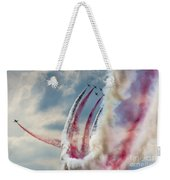 Aerobatic Group Formation  Weekender Tote Bag