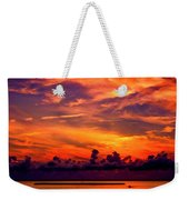 ... And As The Sun Sets On Another Beautiful Day Weekender Tote Bag
