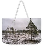 April Snow 1 Weekender Tote Bag