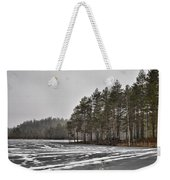 April Snow 3 Weekender Tote Bag