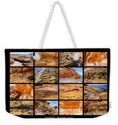 ' Australia Rocks ' - Maria Island - Tasmania Weekender Tote Bag