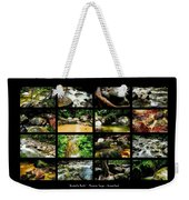 ' Australia Rocks ' Mossman Gorge - North Queensland Weekender Tote Bag