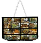 ' Australia Rocks ' - The Dripping Gorge - New South Wales Weekender Tote Bag