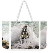 Balance And Energy Weekender Tote Bag by Stelios Kleanthous