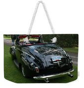 Black And Chrome 13130 Weekender Tote Bag