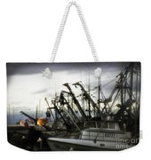 Boats With Sprays Of Light Weekender Tote Bag