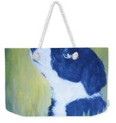 Border Collie Weekender Tote Bag