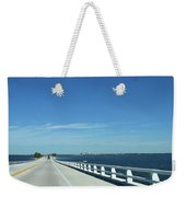 Bridge Over The Sea Weekender Tote Bag
