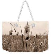 Broadleaf Cattail 1 Weekender Tote Bag