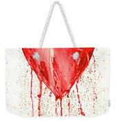 Broken Heart - Bleeding Heart Weekender Tote Bag
