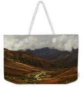Brooks Range, Dalton Highway And The Trans Alaska Pipeline  Weekender Tote Bag