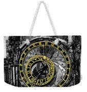 Bw Prague The Horologue At Oldtownhall Weekender Tote Bag