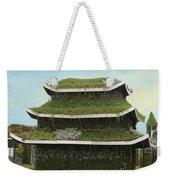 Chinese House Weekender Tote Bag
