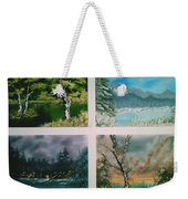 Colors Of Landscape Weekender Tote Bag