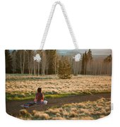 Contemplative Meditation Weekender Tote Bag