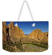 Crooked River At Smith Rock State Park Oregon  Weekender Tote Bag