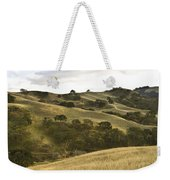 First Hill In Fall Weekender Tote Bag