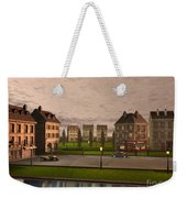 French City Landscrape Weekender Tote Bag