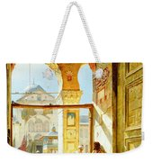 Gate Of The Great Mosque. Damascus Weekender Tote Bag