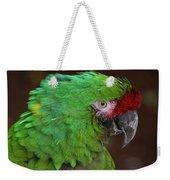 Great Green Macaw Ara Ambiguus Weekender Tote Bag