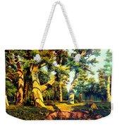 Green Summer-the Oak Forest Weekender Tote Bag