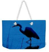 Heron In Water Weekender Tote Bag