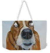 Hound Dog Eyes Weekender Tote Bag