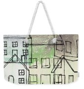 Houses By The River Weekender Tote Bag by Linda Woods
